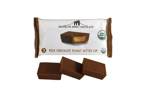 Brooklyn Born Chocolate - Milk Chocolate Organic Peanut Butter Cups