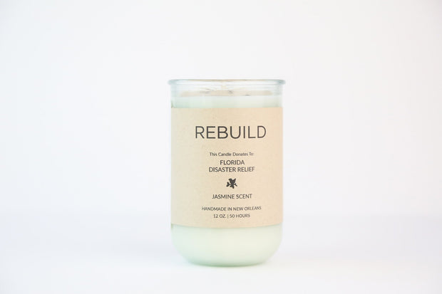 Goods That Matter - Candles For Good - Rebuild