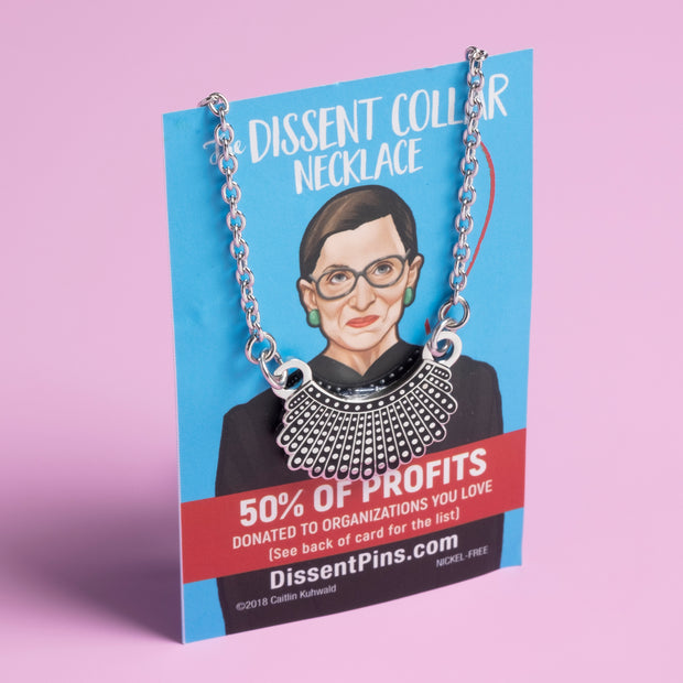 Dissent Pins - Dissent Collar Necklace