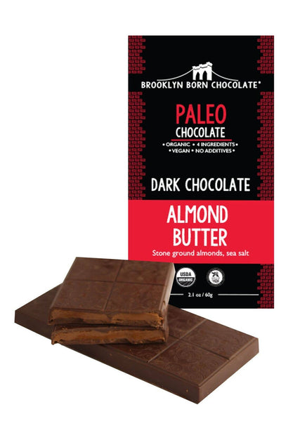 Brooklyn Born Chocolate - Almond Butter Paleo Chocolate Bar