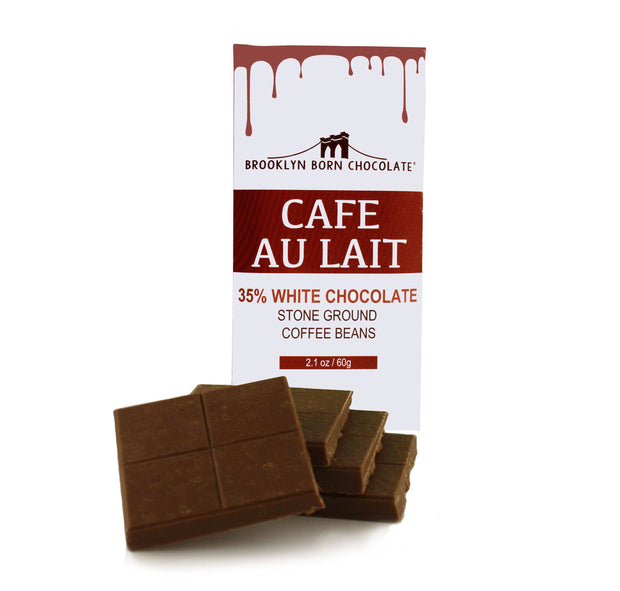 Brooklyn Born Chocolate - Café au Lait White Chocolate Bar