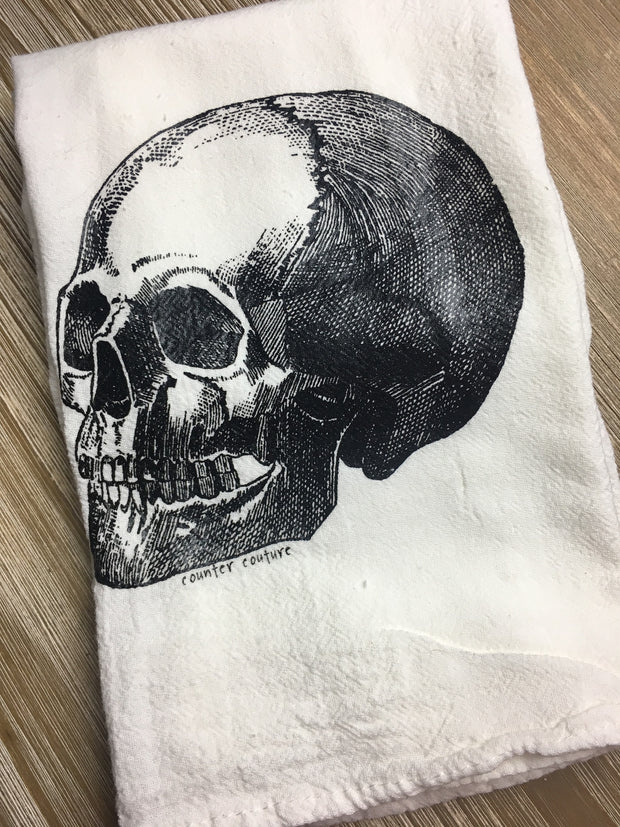 Anatomical Skull Towel-by Counter Couture