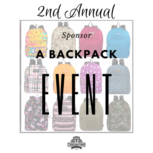 Sponsor a Backpack 2020