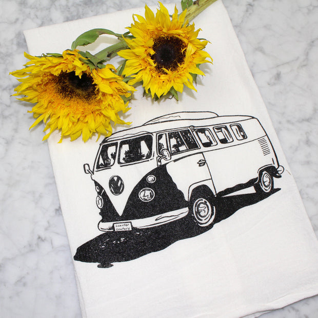VW Bus Tea Towel