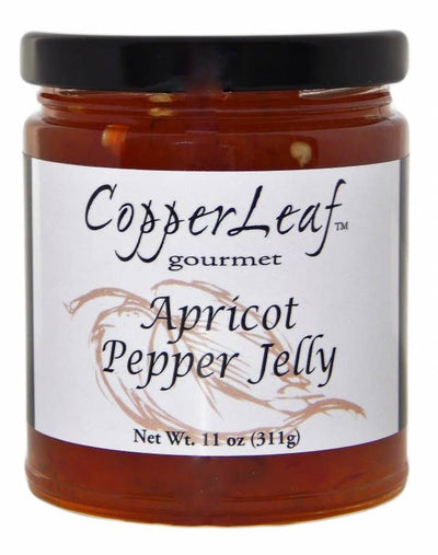 CopperLeaf Gourmet Foods, Inc. - 9 oz. Apricot Pepper Jelly