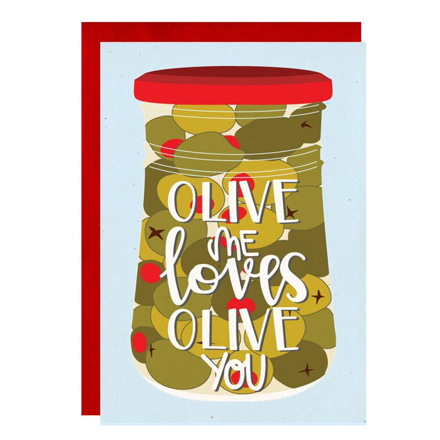 Little Lovelies Studio - Olive Me Valentine's Card
