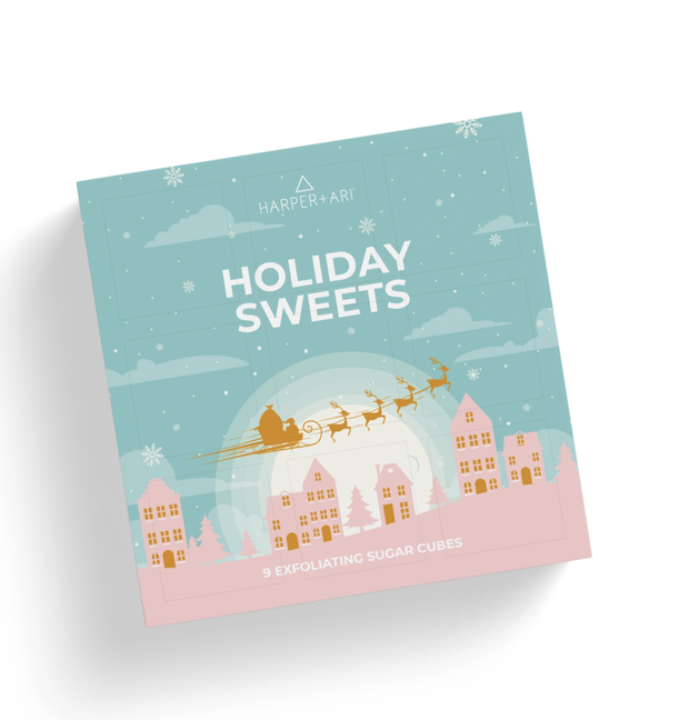 Harper + Ari - 12 Sugar Scrub Advent Calendar
