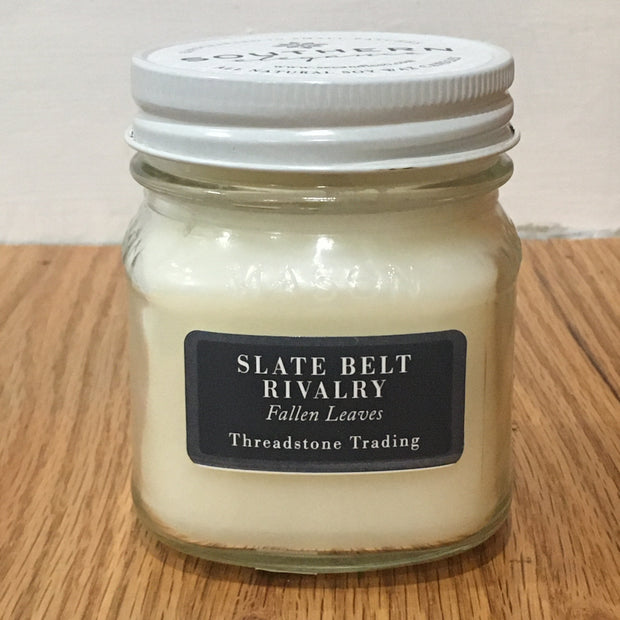 Slate Belt Rivalry Mason Jar Candle