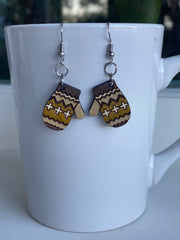Inaugural Mittens Earrings