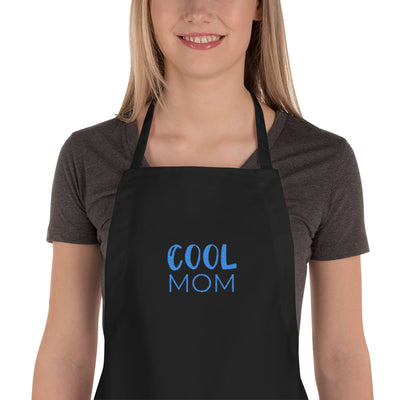 COOL MOM Embroidered Apron