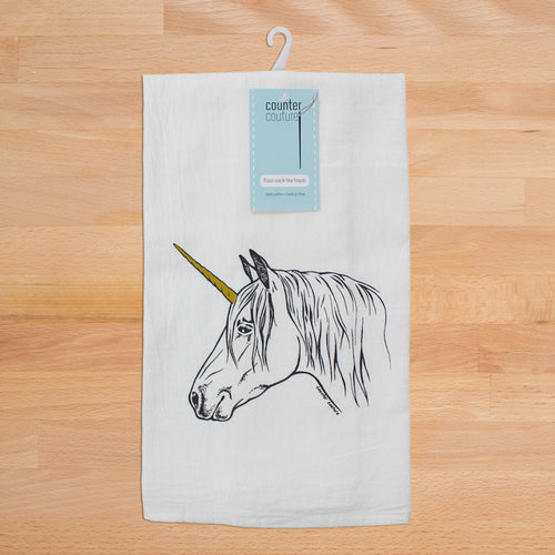 Unicorn Tea Towel