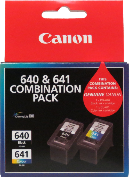 Canon 640/641 Combo Pack