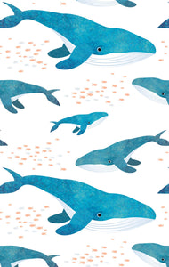 Tea Towel - Whale