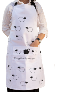 Black Sheep - Apron, Tea Towel, Oven Glove & Pot Holder set