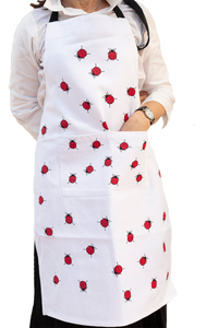 Ladybird - Apron, Tea Towel, Oven Glove & Pot Holder set