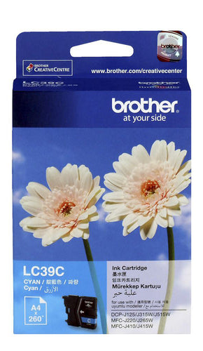 Brother LC39 Colours