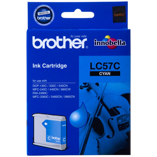 Brother LC57 Colours