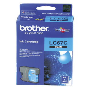 Brother LC67 Colours