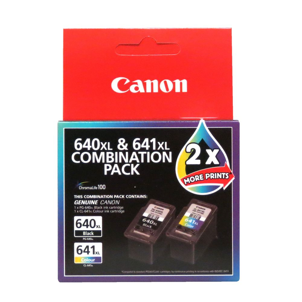 Canon 640xl/641xl Combo Pack