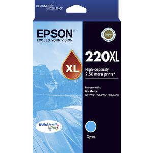Epson 220XL Colours