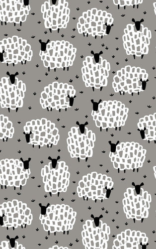 Tea Towel - Grey Sheep