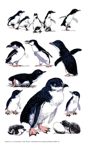 Tea Towel - LR Penguins