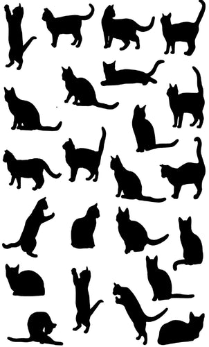 Tea Towel - Cats