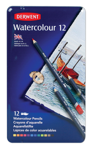 Pencils Derwent Water Colour 12 pack
