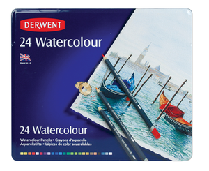 Pencils Derwent Water Colour 24 pack