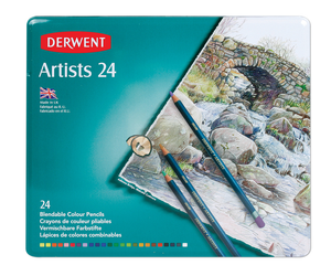 Pencils Derwent Artist Colour 24 pack