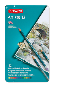 Pencils Derwent Artist Colour 12 pack