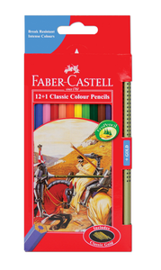 Pencils Faber Classic Coloured 12's