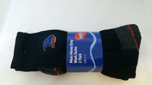 AFL Mens Heavy Duty Work Socks