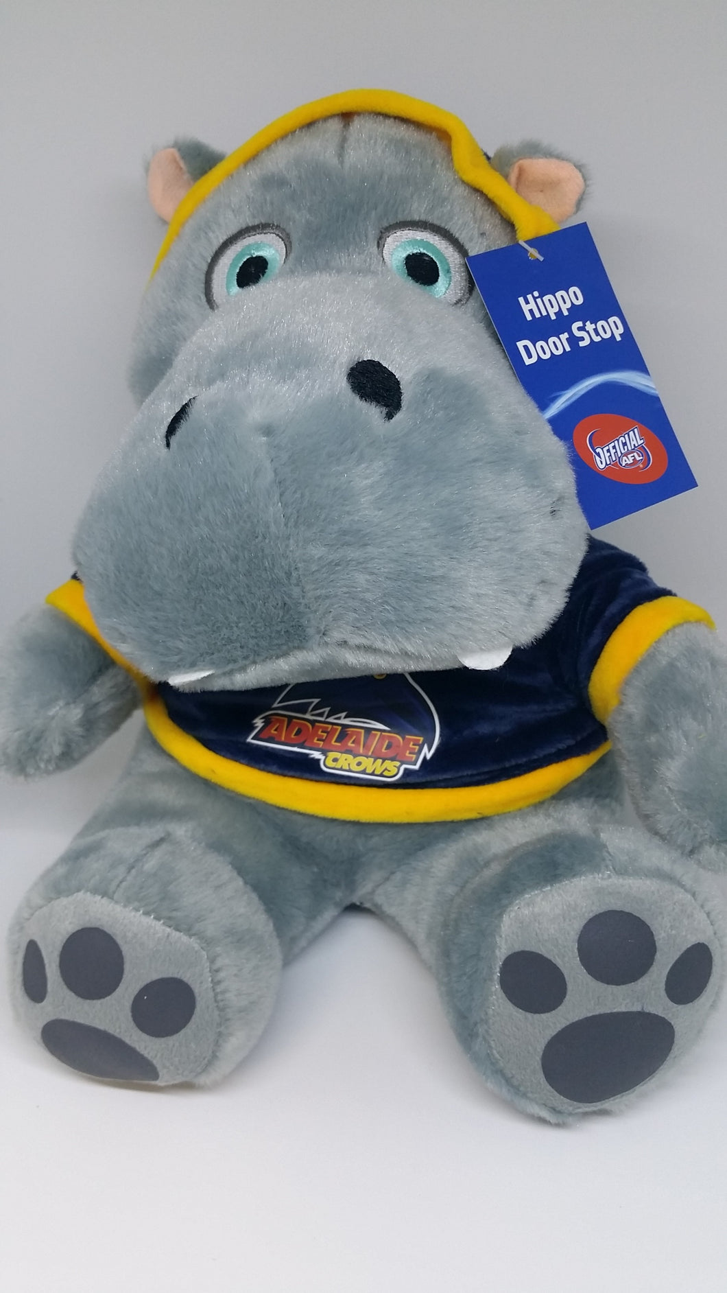 AFL -  Door Stop Hippo - CROWS