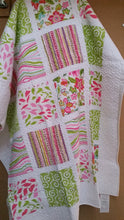 COTTON QUILTED THROWS - ASSORTED