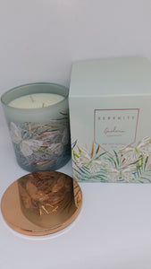 SERENITY - SOY WAX CANDLES 10 OZ - assorted - $19.95 ea