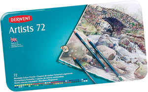 Pencils Derwent Artist Colour 72s