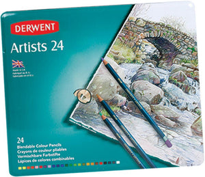 Pencils Derwent Artist Colour 24s
