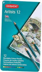Pencils Derwent Artist Colour 12s