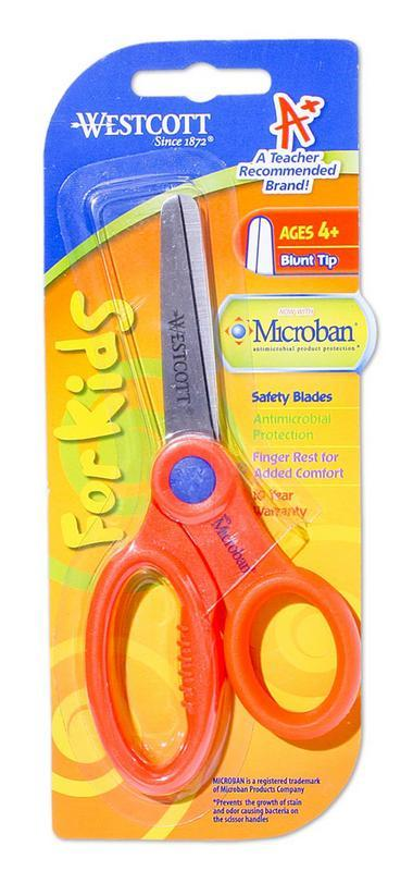 Scissors Westcott Microban Kids 127mm