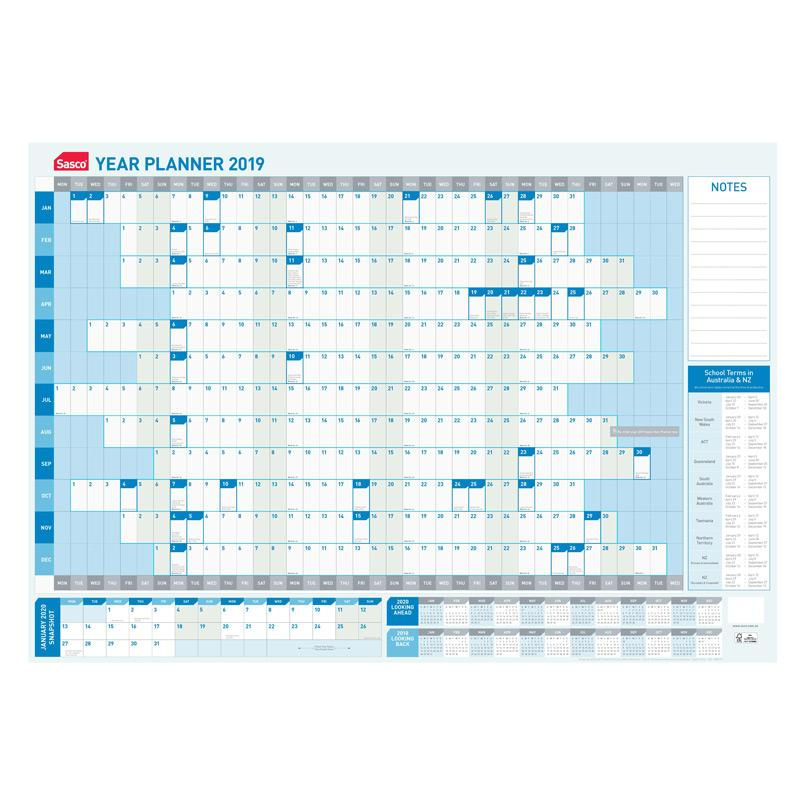 Planner Yearly 2019 Sasco