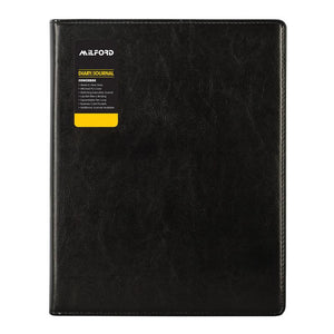 Milford 2019 Diary With Journal Black