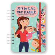 Orange Circle Do It All Mum Planner