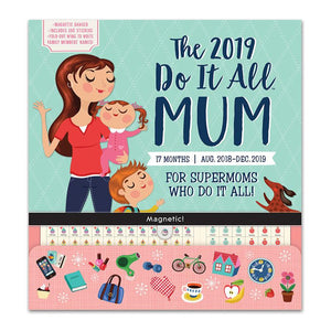 Orange Circle Do It All Wall 2019 Calendar Mum