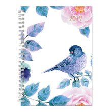 Cumberland Aspen Fashion Diary 2019 A5 DTP Blue Bird