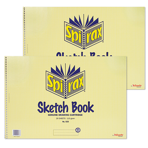 Sketch Book Spirax 533 295mm x 415mm 40 pages