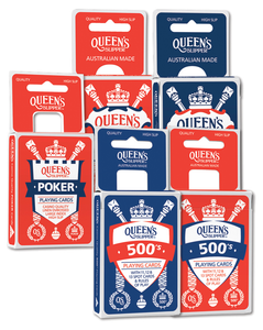 Playing Cards Queens Slipper