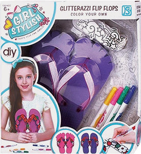 Colour your own Flip Flops