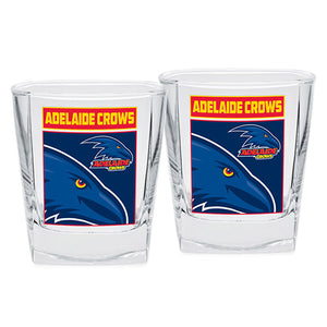 AFL - Adelaide Crows Spirit Glasses