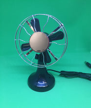 Desk Fan Retro with USB Cable